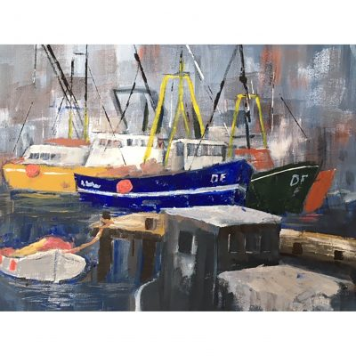 White – Fishing Boats