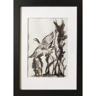 Tovey – Heron Ink Study 2