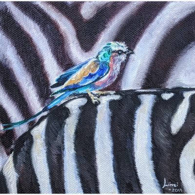 Pattison – Hitching A Ride (Zebra and Bird)