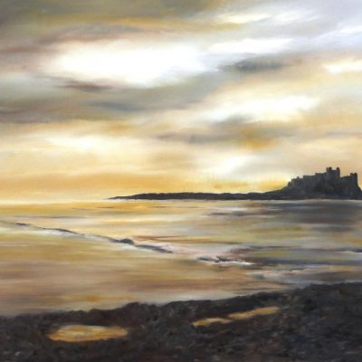 Fox – Bamburgh Castle