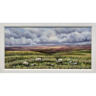 Roberts – Sheep on Haworth Moor