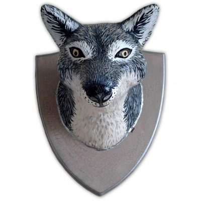 Whitham – Big Wolfie Faux Taxidermy Head