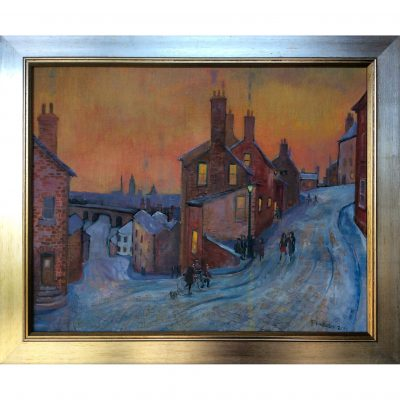 Holbrow – Winter Evening Above Sheffield